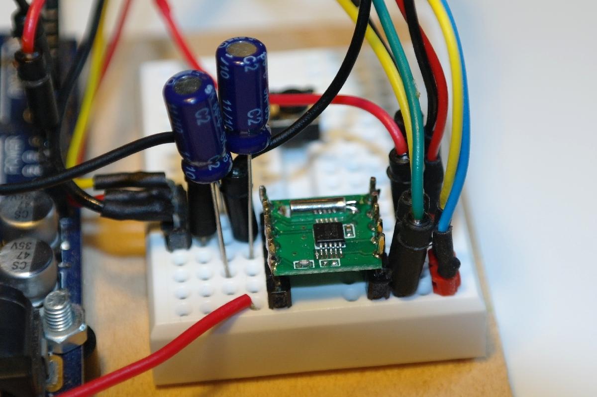 Arduino Radio Library The Wiring Rda5807m From Rda Microelectronics