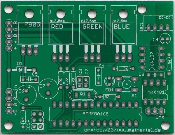 Dmx Controller For Rgb Led Stripes Or Panels